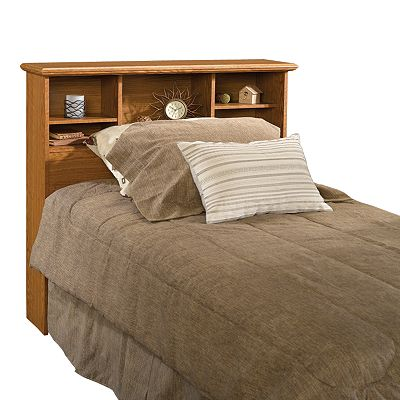 Sauder Twin Bookcase Headboard - Oak