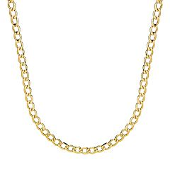 Everlasting Gold 14k Gold Figaro Chain - 24 in.