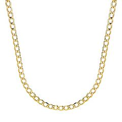 Everlasting Gold 14k Gold Curb Chain - 24 in.