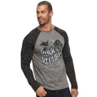 Men's Rock & Republic Graphic Raglan Thermal Tee