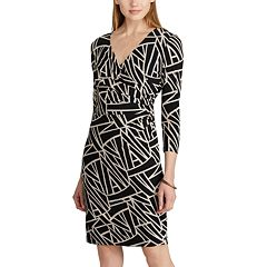 Women's Chaps Geometric Print Sheath Dress