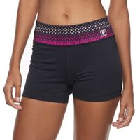 Women's FILA SPORT® Tru-Dry High-Waist Fitted Performance Shorts
