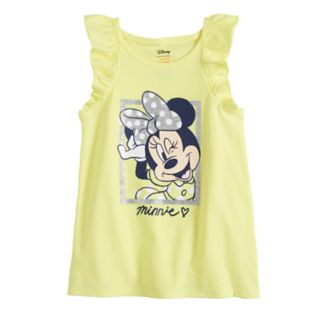 Disney's Minnie Mouse Girls 4-10 Flutter Sleeve Tank Top by Jumping Beans®