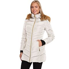 Women's Halitech Faux-Fur Hooded Heavyweight Puffer Jacket