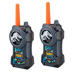 Kid Designs Jurassic World Long Range Walkie Talkies