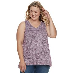 Plus Size SONOMA Goods for Life™ V-neck Tank