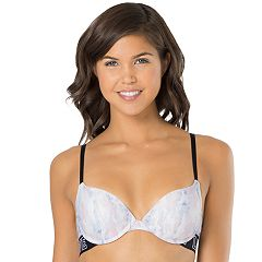 Juniors' SO® Bras: 'Love' Graphic Push Up Bra