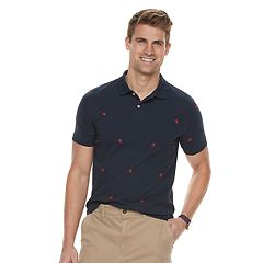 Men's SONOMA Goods for Life™ Printed Pique Polo Shirt