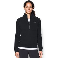 Women's Under Armour French Terry Half-Zip Jacket