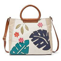 Relic Fiona Tropical Crossbody Satchel
