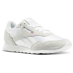 3e4849db6c4 Reebok Royal Nylon Men s Sneakers. White Black White