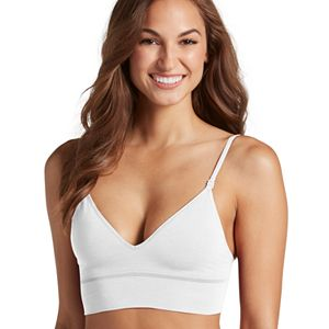 bb397d347f180 Jockey Bras  Natural Beauty Seamfree Molded Cups Bralette 2451