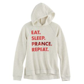 Girls 7-16 SO® Holiday Fleece Sweatshirt