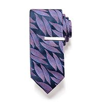 Men's Apt. 9® Skinny Tie and Tie Bar