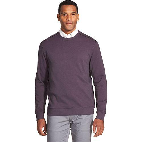 Men's Van Heusen Flex Classic-Fit Fleece Knit Crewneck Sweater