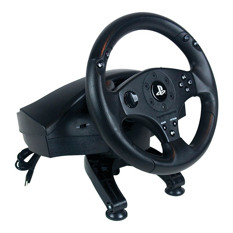 how to get thrustmaster wheel on ps2
