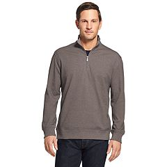 Men's Van Heusen Flex Fleece Quarter-Zip Top