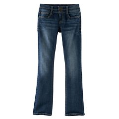 Girls 7-16 & Plus Size Mudd® Double-Button Skinny Bootcut Jeans