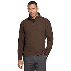 Men's Van Heusen Ottoman Flex Quarter-Zip Knit Top