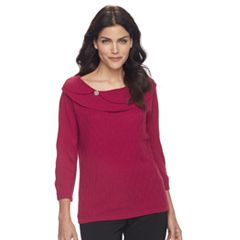 Petite Napa Valley Textured Sweater