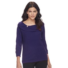 Petite Napa Valley Textured Sweater