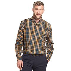 Men's Arrow Trail Blazer Classic-Fit Plaid Button-Down Shirt