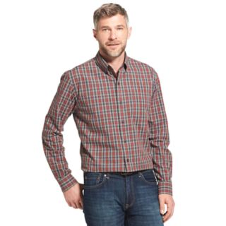 Men's Arrow Trail Blazer Classic-Fit Plaid Button-Down Shirt