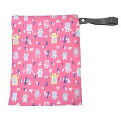 Itzy Ritzy Travel Happens Reusable Wet Bag with Handle