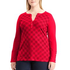 Plus Size Chaps Knit Top