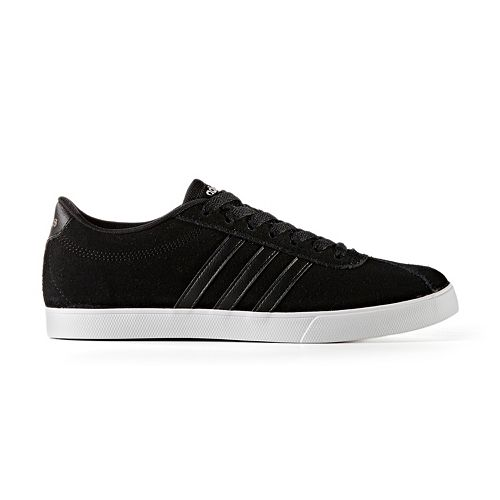 8678a0619a7cd3 adidas NEO Courtset Women s Suede Sneakers