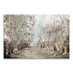Artissimo Designs Spring Blossoms Canvas Wall Art
