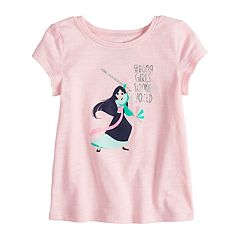 Disney's Mulan Toddler Girl Foiled Graphic Tee by Jumping Beans®