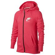 Girls 7-16 Nike 'Just Do It' Marled Nep Raglan Zip-Up Hoodie