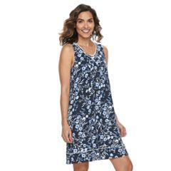 Women's Croft & Barrow® Sleeveless V-Neck Nightgown