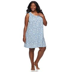 Plus Size Croft & Barrow® Sleeveless V-Neck Nightgown