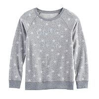 Girls 7-16 SO® Cozy Fleece Pullover Top