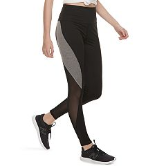 Juniors' SO® Colorblock Mesh Yoga Leggings