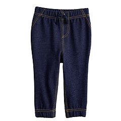Baby Boy Jumping Beans® Denim Jogger Pants