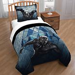 Marvel Black Panther 2-piece Twin Full Quilt Set