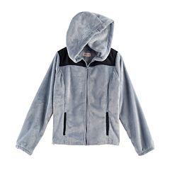 Girls 7-16 & Plus Size SO® Hooded Sherpa Zip-Up Jacket