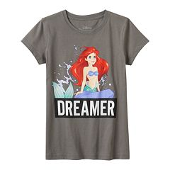 Disney's The Little Mermaid Ariel Girls 7-16 'Dreamer' Graphic Tee