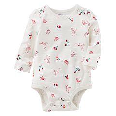 Baby Girl OshKosh B'gosh® Nature Print Bodysuit