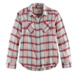 Girls 7-16 & Plus Size Mudd® Metallic Plaid Button-Front Flannel Shirt