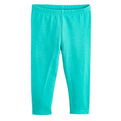 Baby Girl Jumping Beans® Solid Long Leggings