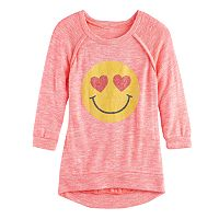 Girls 7-16 Miss Chievous 3/4 Hatchi Graphic Top