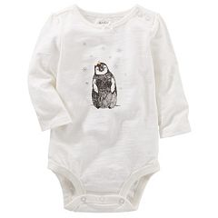 Baby Girl OshKosh B'gosh® Penguin Bodysuit