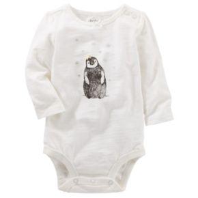 Baby Girl OshKosh B'gosh® Penguin Bodysuit