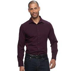 Men's Apt. 9® Slim-Fit Stretch Button-Down Shirt