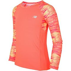 Girls 7-16 New Balance Long Sleeve Performance Top