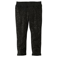 Toddler Girl Jumping Beans® Print Glitter Leggings